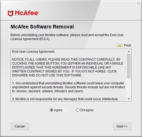 Как удалить McAfee полностью