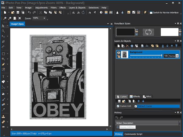 Бесплатный графический редактор